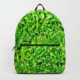 Texture of grass Backpack