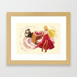 Scandi Sweets - Runeberg's Tart Framed Art Print