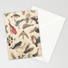 Vintage Songbirds Stationery Cards