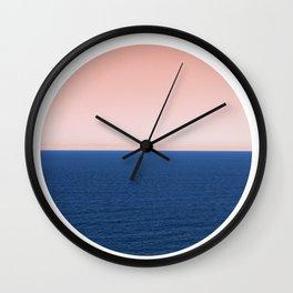 Endless Ocean Circle Wall Clock