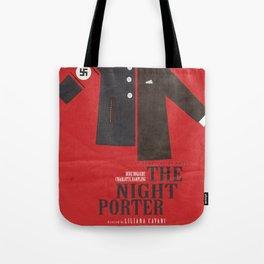 The Night Porter, movie poster, Liliana Cavani, Charlotte Rampling, Dirk Bogarde Tote Bag