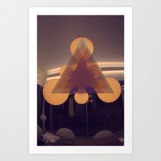 Modern Light  Art Print