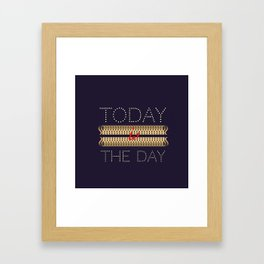 Allways positive Framed Art Print