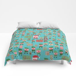 Santa's Workshop Comforters