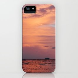 Cotten Candy Sunset iPhone Case