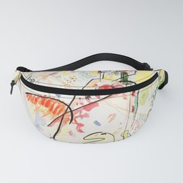 Wassily Kandinsky Small Pleasures Fanny Pack