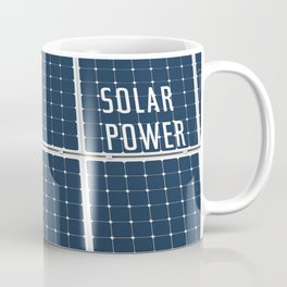 Solar Cell Panel Coffee Mug
