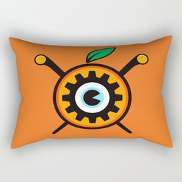 Clockwork Rectangular Pillow