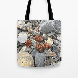 River Stone Tiny Cones Tote Bag