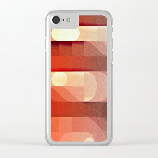 Amazing Stair Cases Clear iPhone Case