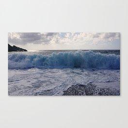 Sea in Palmi Canvas Print