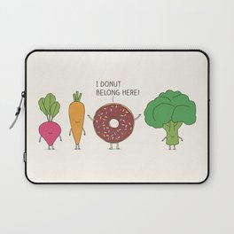 I donut  belong here! Laptop Sleeve