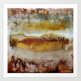 Desert Magic Art Print
