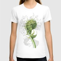 fern T-shirts featuring Fern by Line Holtegaard