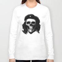 che Long Sleeve T-shirts featuring Che Guevara by Motohiro NEZU