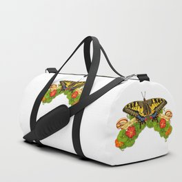Old World Swallowtail Butterfly Duffle Bag