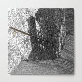 Abstract steps 1 Metal Print