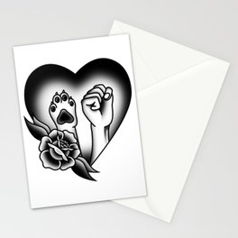 Paws Up Stationery Cards
