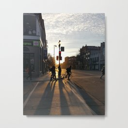 Avenue Mont-Royal, Montreal Metal Print