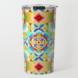 Cosmic Celtic Ombre (smaller scale) Travel Mug