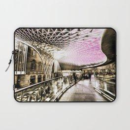 Futuristic London Art Laptop Sleeve