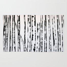 Nature's Barcode Rug