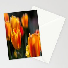 Tulips in the Garden Stationery Cards