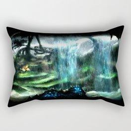 Metroid Metal: Tallon Overworld- Where it All Begins Rectangular Pillow