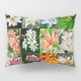 Lily Montage Pillow Sham