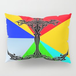 The Anchor Stripes Colorful Pillow Sham