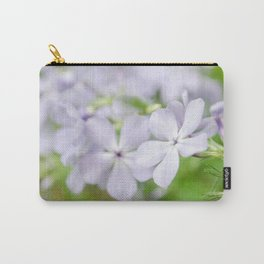 Soft Focus Phlox Carolina Botanical / Nature / Floral Photograph Carry-All Pouch
