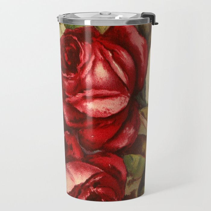 Frank, L. - Emma V. Catalogue 1921 - Red Roses Travel Mug