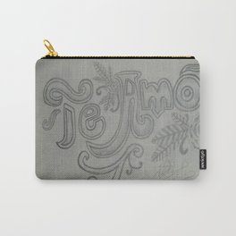Te Amo. Carry-All Pouch
