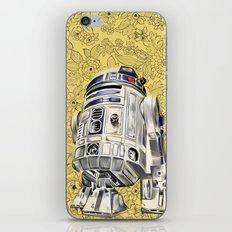 R2D2 from StarWars iPhone & iPod Skin