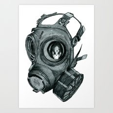 Where's My Mummy Art Print