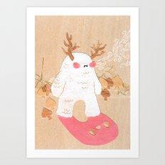 Wendigo Art Print