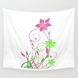 Spring's flowers Wall Tapestry