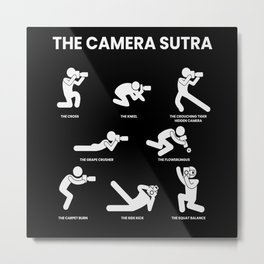 The Camera Sutra Camera Photography Photo Metal Print