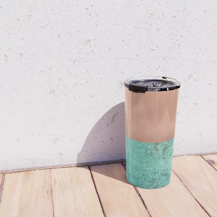NEW EMOTIONS - ROSE & TEAL Travel Mug