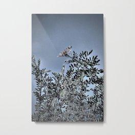 silver tree Metal Print