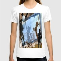 volleyball T-shirts featuring Anyone For Volleyball? by Robin Curtiss