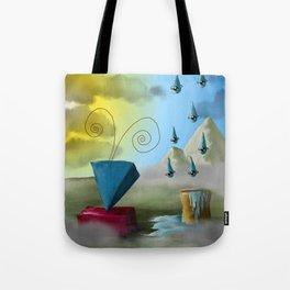 Hello Dali Tote Bag