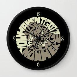 Oogie Boogie Wall Clock