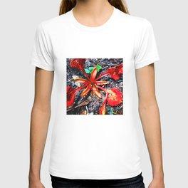 Flor Rojo T-shirt