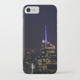 NYC Iconic Night Sky iPhone Case