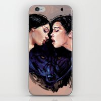 beast iPhone & iPod Skins featuring Beast by Tyson McAdoo