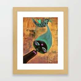 Courage-Bhoomie Framed Art Print