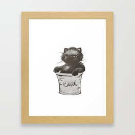 Bucket of Disappoint Framed Art Print