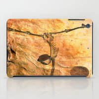 workout iPad Cases featuring Workout for Monsieur Bone by Ganech joe