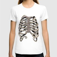 huebucket T-shirts featuring Your Rib is an Octopus by Huebucket